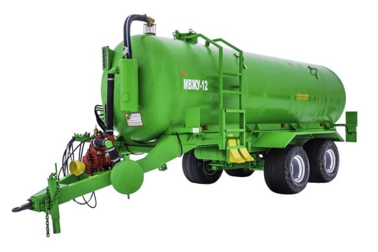 "Machine for applying liquid organic fertilizers ""MVZHU-12"""