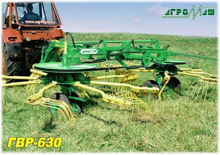 "Rotary rake-tedders ""GVR-630"""
