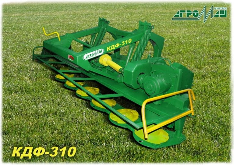 "Disc mower ""KDF-310"" frontal"