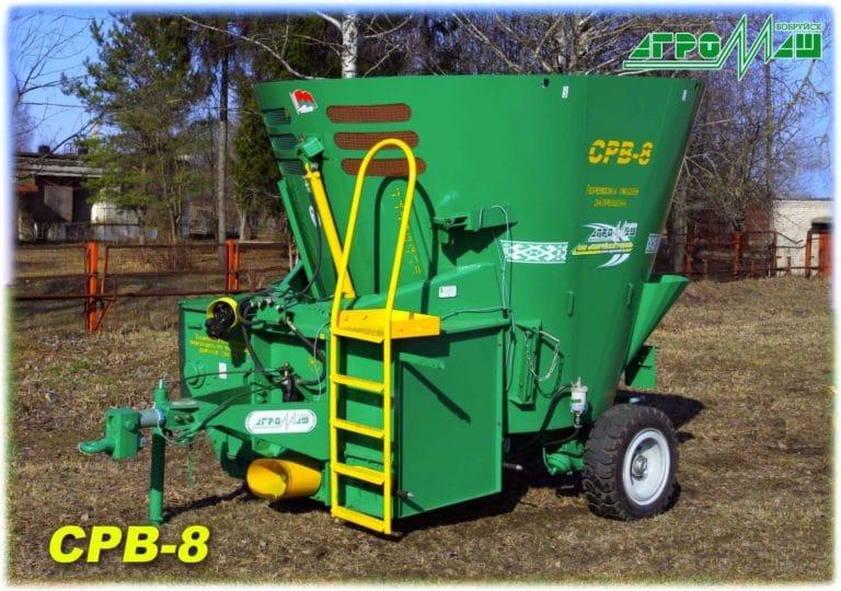 "Mixer-distributor of feed ""SRV-8"""
