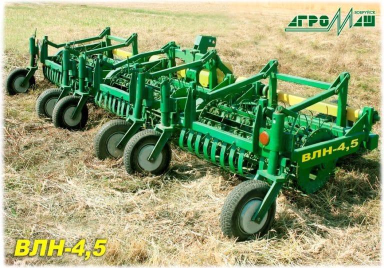 """Flax belt fluffer """"VLN-4.5"""""""
