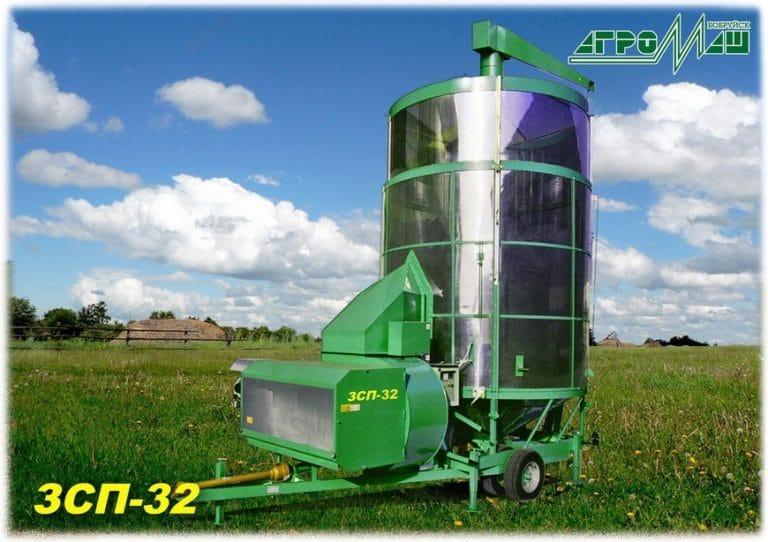 """Dryer for grain """"ZSP-32"""""""
