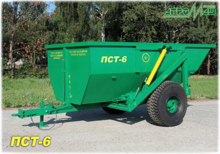 "Dump semi-trailer ""PST-6"""