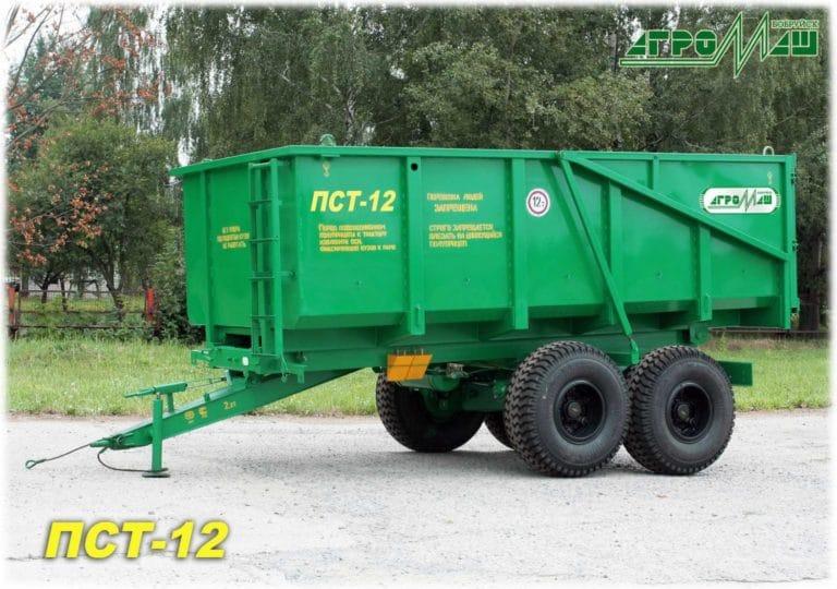 "Dump semi-trailer ""PST-12"""