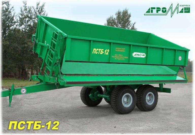 "Dump semi-trailer ""PSTB-12"""