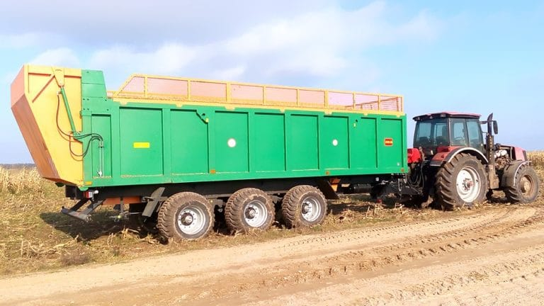 """Tractor semi-trailer """"PTSS-7"""""""