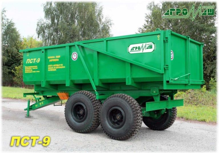 "Dump semi-trailer ""PST-9"""