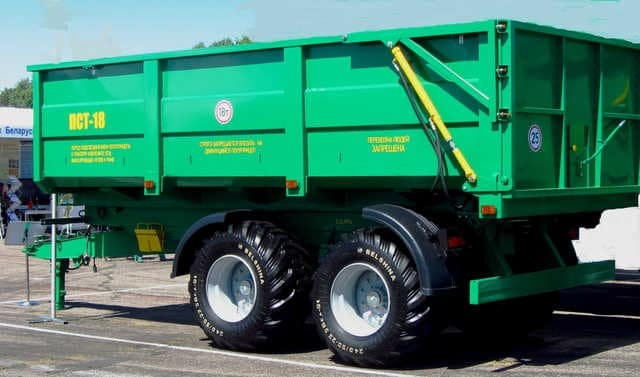 "Dump semi-trailer ""PST-18"""