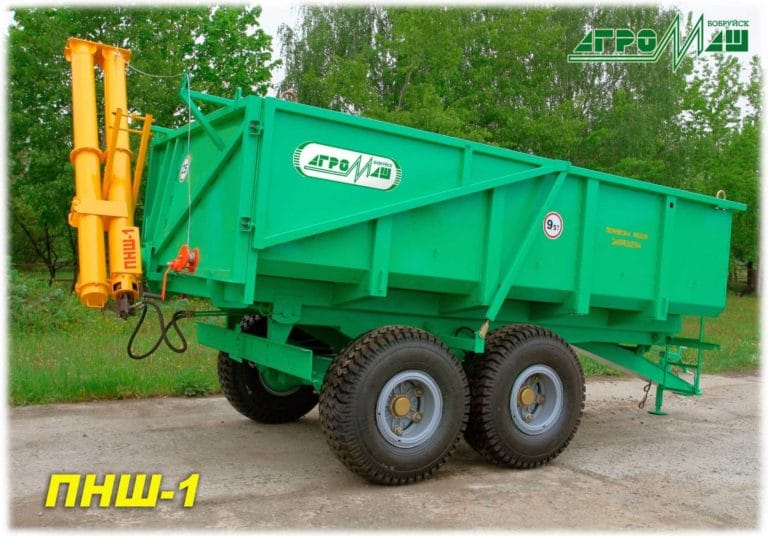 """Attachment hinged auger """"PNSh-1"""""""