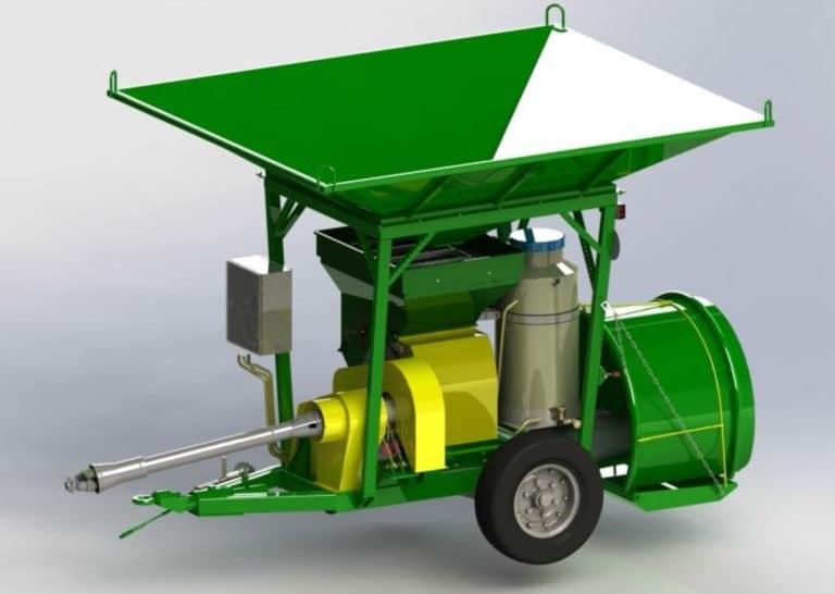 """Grinder-packer of grain """"IUVZ-10E"""""""