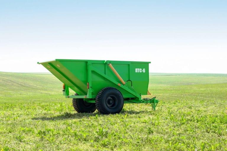 "Tractor dump semitrailer ""PTS-6"""