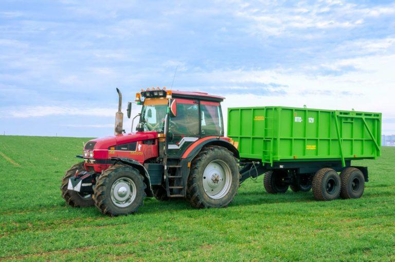 "Tractor dump semitrailer ""PTS-12U"""