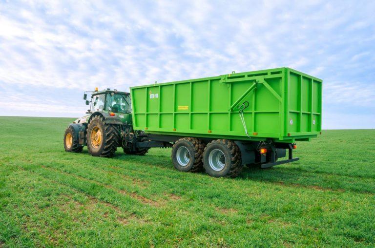 "Tractor dump semitrailer ""PTS-18"""