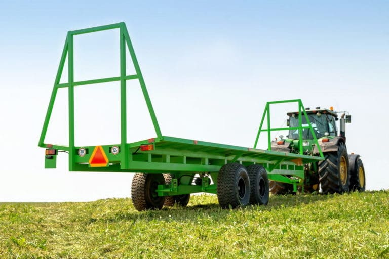 Agricultural trolley for transportation of rolls TPR-10