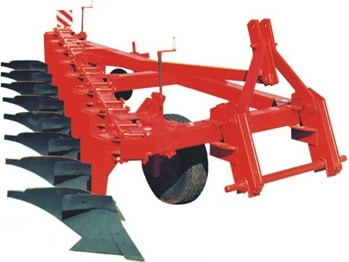 """8-furrow mounted plow reinforced with variable working width """"PN-8-35U"""""""