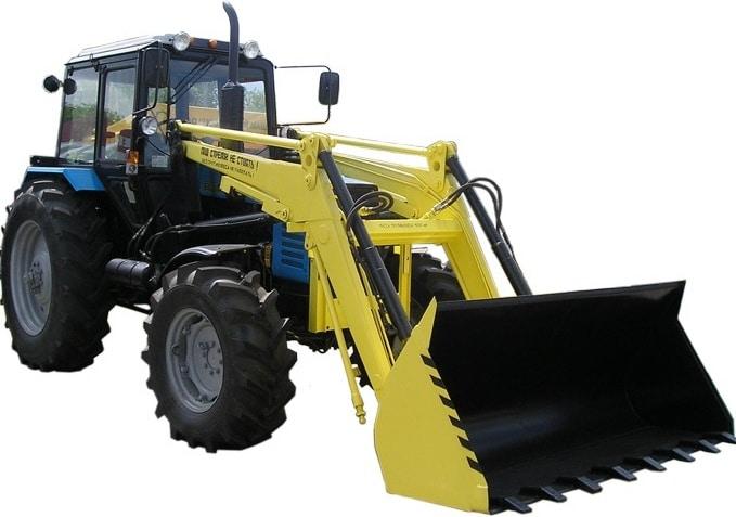 """Front-end agricultural loader """"Belarus 1221 P11"""""""