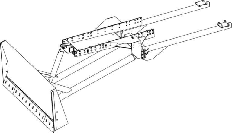 "Dozer blade ""OB900-0010"""