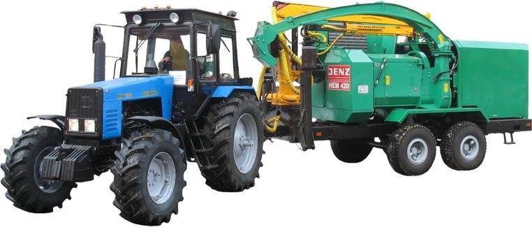 """Chipping machine """"BELARUS MR-100"""""""
