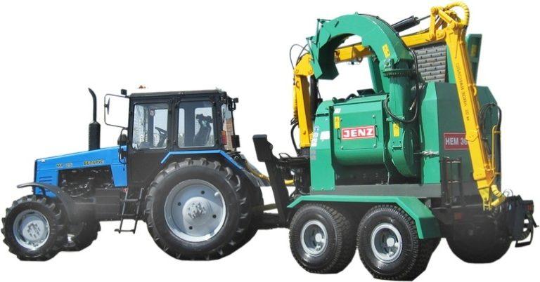 """Chipping machine """"BELARUS MR-25"""""""