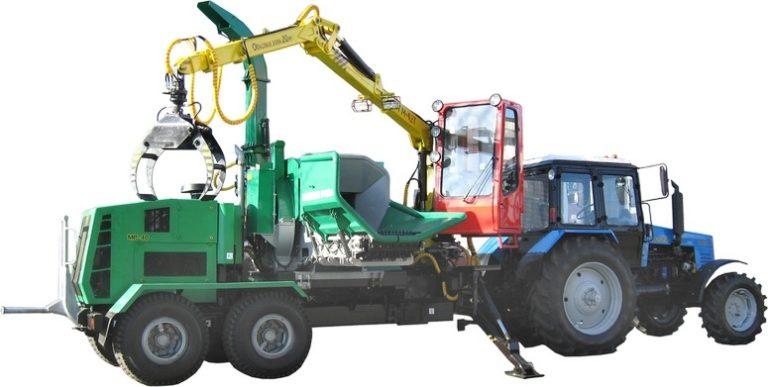 """Chipping machine """"BELARUS MR-40-01"""""""