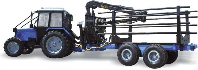 "Equipment for a semitrailer for logging ""OPL"""