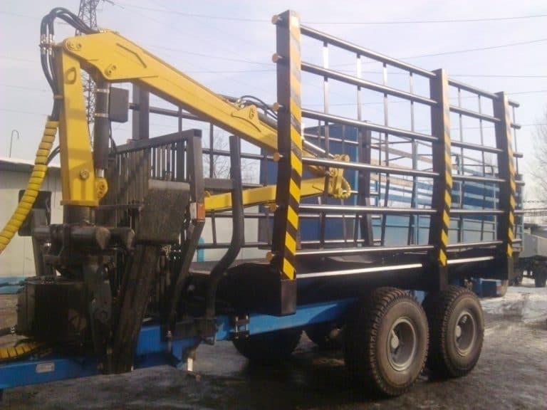 OPL.M timber semi-trailer equipment is modernized