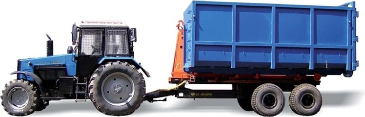 """Container semi-trailer """"BELARUS PK-12"""""""