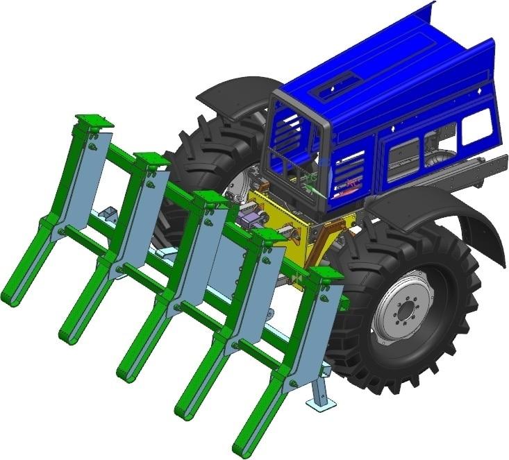 "Forestry harvesting equipment ""OUL-24"""