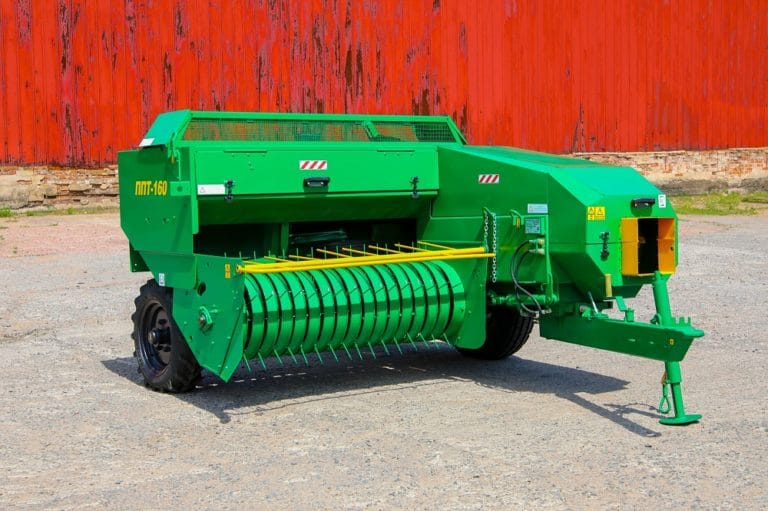 Square baler PPT-160 (without fan, lantern, bale counters)