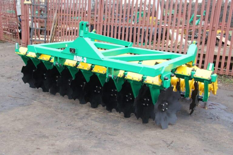 Semi-mounted tillage unit APN-3.0