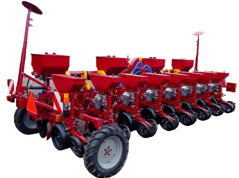 Seeder STV6DU (6 sowing sections, disc coulter, equipment for fertilizing) tractor class 2.0
