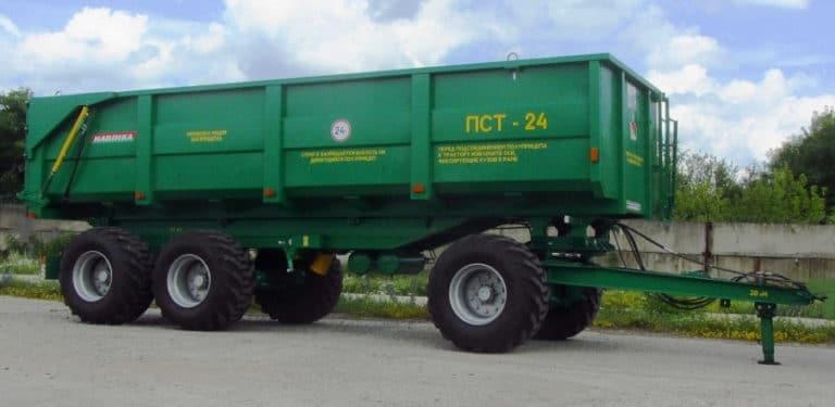 Tractor semi-trailer PST-24