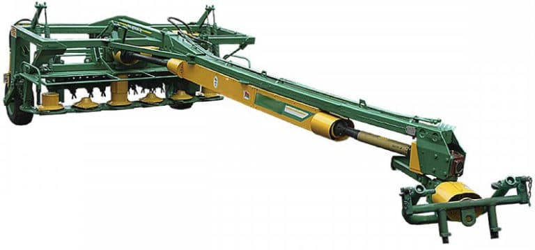 Semi-trailed disc mower (without replaceable adapters) KDP-310-2
