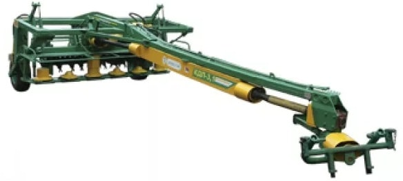 Semi-trailed disc mower (with V-type bilge-deck activator) KDP-310-1
