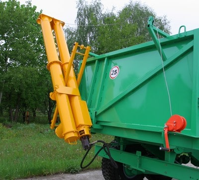 Attachment hinged auger (for semi-trailer PST-12) PNSh-1-01