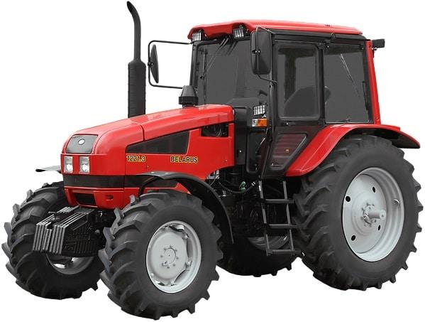 Tractor Belarus 1221.3-732 double tanks