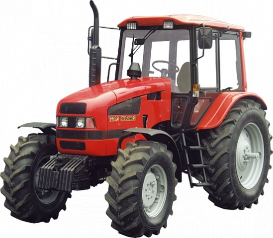 Tractor Belarus 1221.3-751 (additional tank + pneumatic system)